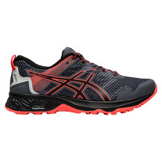 Asics GEL Sonoma 5 D Womens Trail Running Shoes Black US 6, Black, rebel_hi-res