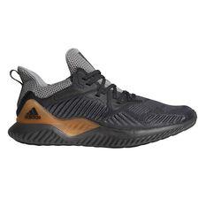 adidas Alphabounce Beyond Mens Running Shoes Grey / Orange US 7, Grey / Orange, rebel_hi-res