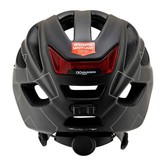 Goldcross Ultralight Bike Helmet Black M, Black, rebel_hi-res