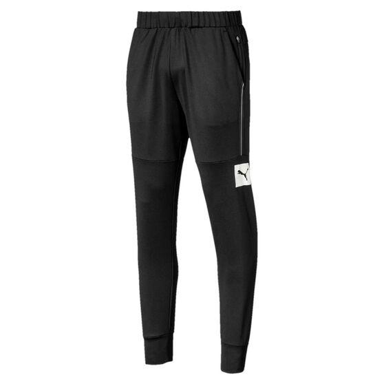 Puma Mens Tec Sports Sweatpants, Black, rebel_hi-res