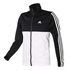 adidas Mens Back 2 Basics 3 Stripes Tracksuit Black / White S, Black / White, rebel_hi-res