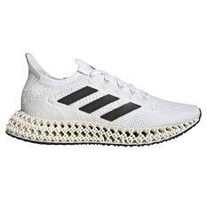 adidas 4DFWD Mens Running Shoes White/Black US 7, White/Black, rebel_hi-res