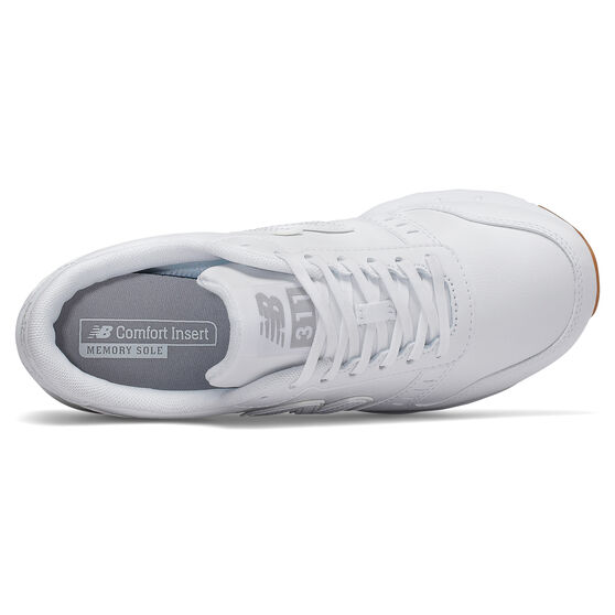 New Balance Classic 311 Womens Casual Shoes, White, rebel_hi-res