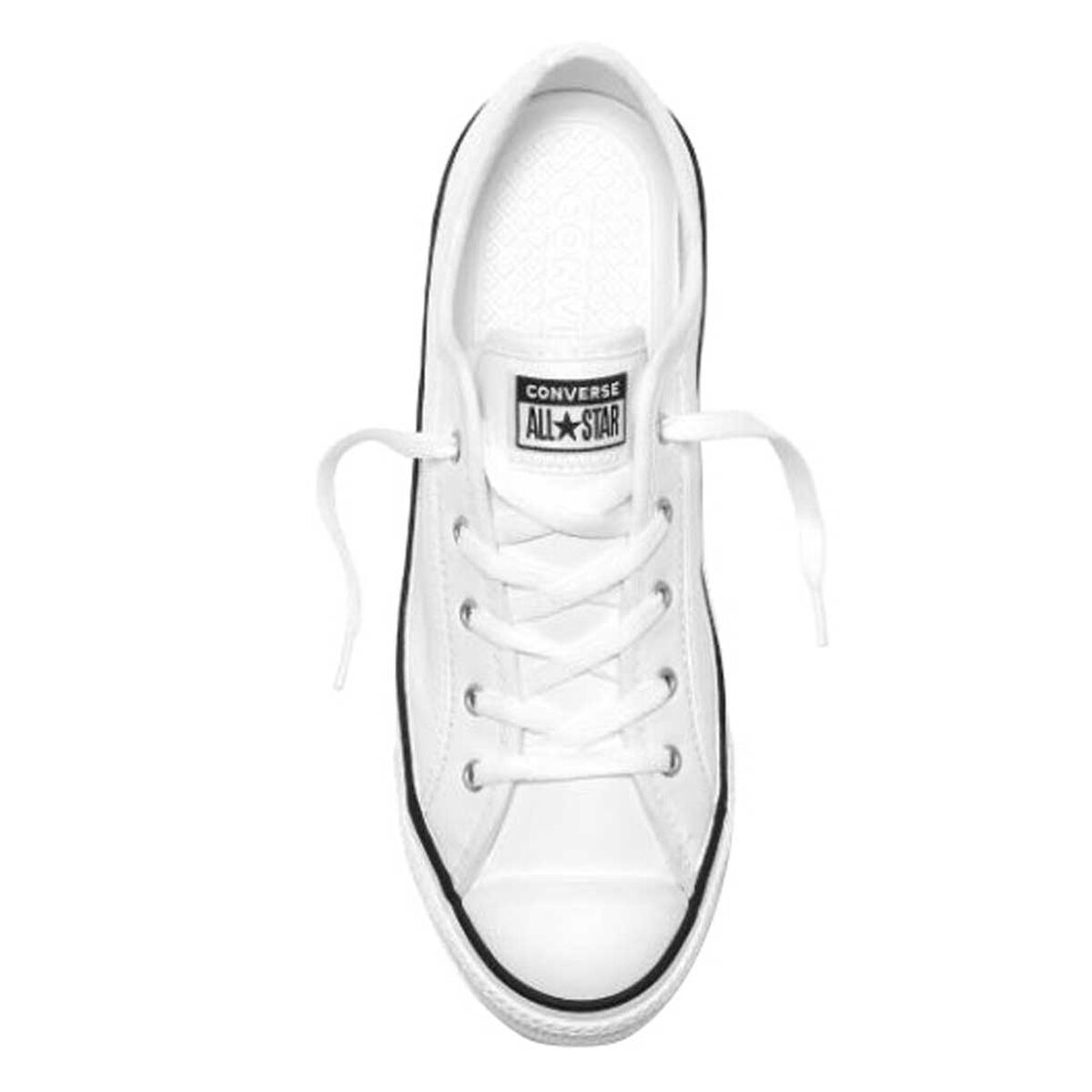 womens white leather converse shoes