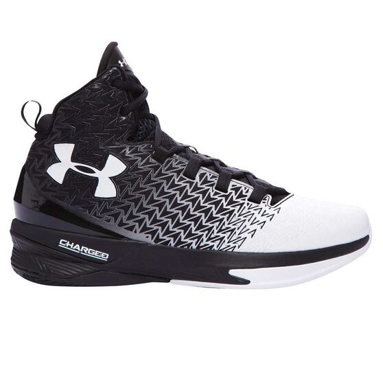 69d205bd787 Under Armour ClutchFit Drive 3 Mens Basketball Shoes Black   White US 8