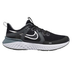 Nike Legend React 2 Mens Running Shoes Black / White US 7, Black / White, rebel_hi-res