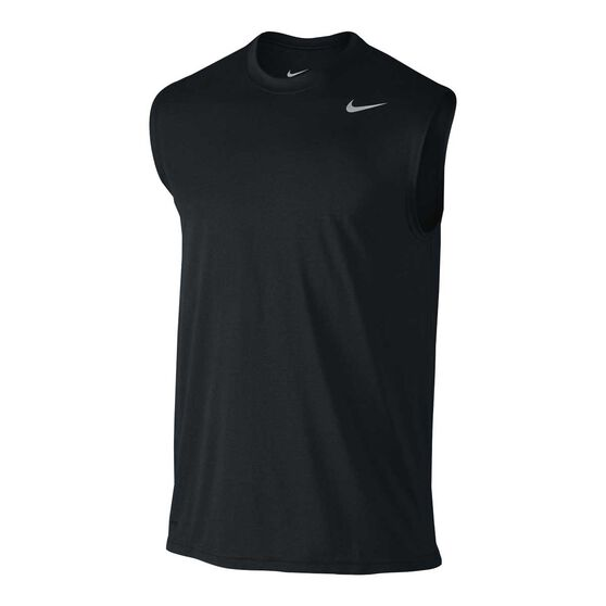 Nike Legend 2.0 Mens Training Tank, Black / Grey, rebel_hi-res