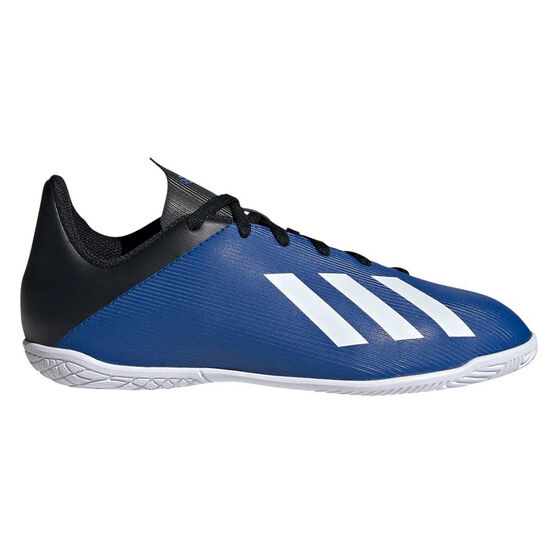 adidas X 19.4 Kids Indoor Soccer Shoes, Blue / White, rebel_hi-res