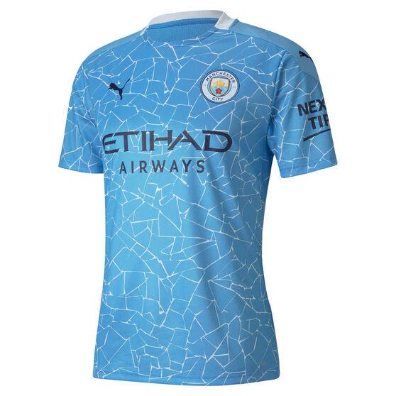 Manchester City 2020/21 Mens Home Jersey, Blue, rebel_hi-res