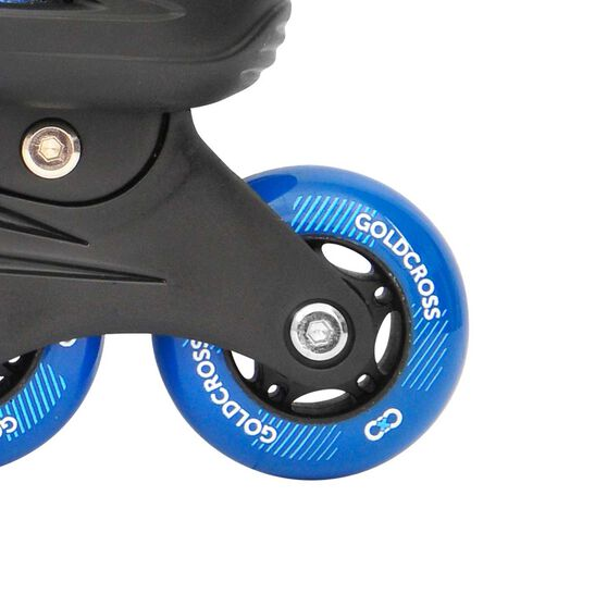 Goldcross GXC165 2 in 1 Inline Skates, Blue, rebel_hi-res