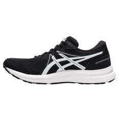 Asics GEL Contend 7 4E Mens Running Shoes Black/White US 7, Black/White, rebel_hi-res