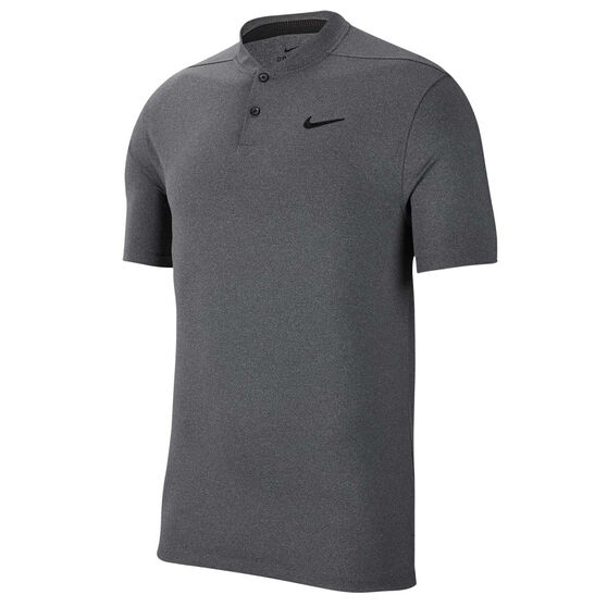 Nike Mens Dri FIT Vapor Golf Polo, Black, rebel_hi-res
