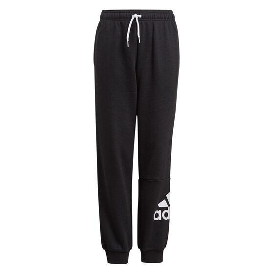 Adidas Boys VF Essential Big Logo Pants, Black, rebel_hi-res