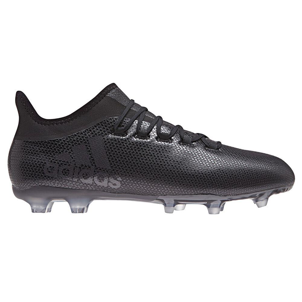 various colors bd936 09e09 adidas X 17.2 FG Mens Football Boots Black   Blue US 11 Adult, Black
