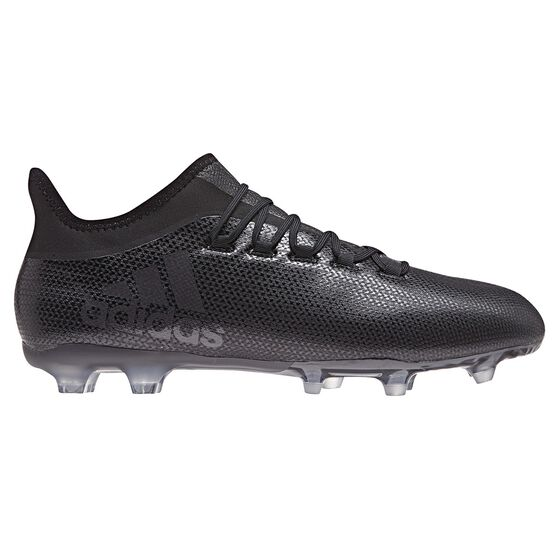 adidas X 17.2 FG Mens Football Boots Black   Blue US 11 Adult ... 2944b1bba
