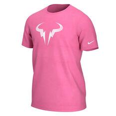 NikeCourt Mens Rafa Dri-FIT Tee Pink M, Pink, rebel_hi-res