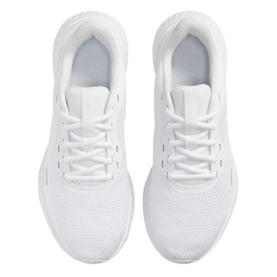 Nike Revolution 5 Womens Running Shoes, White, rebel_hi-res