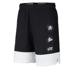 Nike Mens Training Shorts Black XS, Black, rebel_hi-res