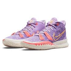 Nike Kyrie 7 Daughters Azurie Basketball Shoes, Lilac, rebel_hi-res