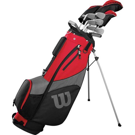 Wilson Prostaff SGI Package Golf Set Black / Red, Black / Red, rebel_hi-res
