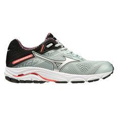 Mizuno Wave Inspire 15 Womens Running Shoes Grey / Coral US 7, Grey / Coral, rebel_hi-res