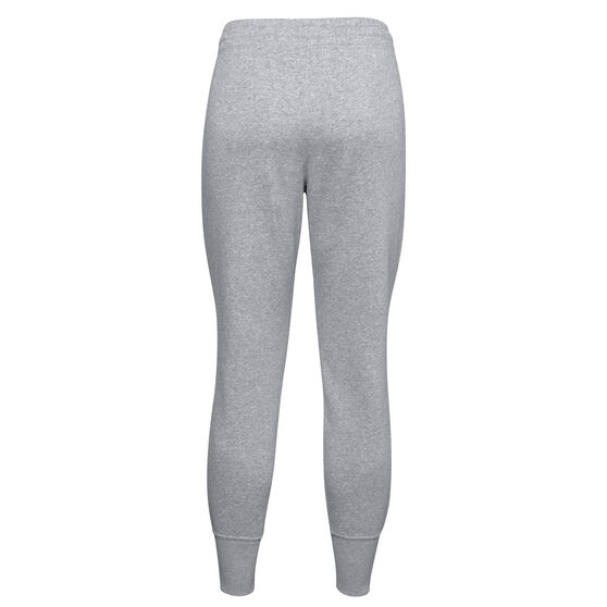 Under Armour Womens UA Rival Fleece Jogger Pant, Grey, rebel_hi-res
