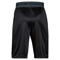 Under Armour Boys Tech Prototype 2 Shorts, Black / Grey, rebel_hi-res