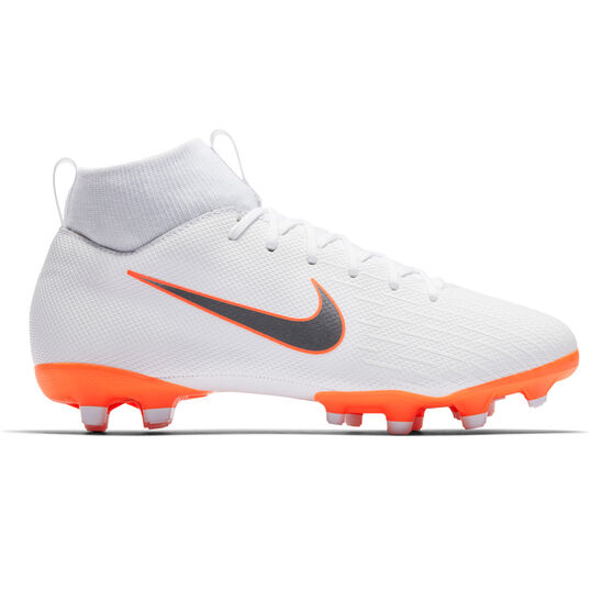 pretty nice bf24c 0d6f6 Nike Mercurial Superfly 6 Academy MG Junior Football Boots White / Grey US 4