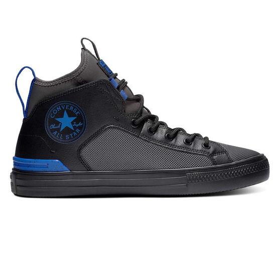 Converse Chuck Taylor All Star Ultra Mens Casual Shoes, Black / Grey, rebel_hi-res