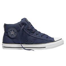 Converse Chuck Taylor All Star Street High Top Mens Casual Shoes Blue / Grey US 7, Blue / Grey, rebel_hi-res