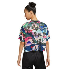 Nike Womens Icon Clash Sportswear Tee Print XS, Print, rebel_hi-res