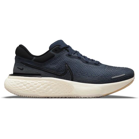 Nike ZoomX Invincible Run Flyknit Mens Running Shoes, Blue/Black, rebel_hi-res