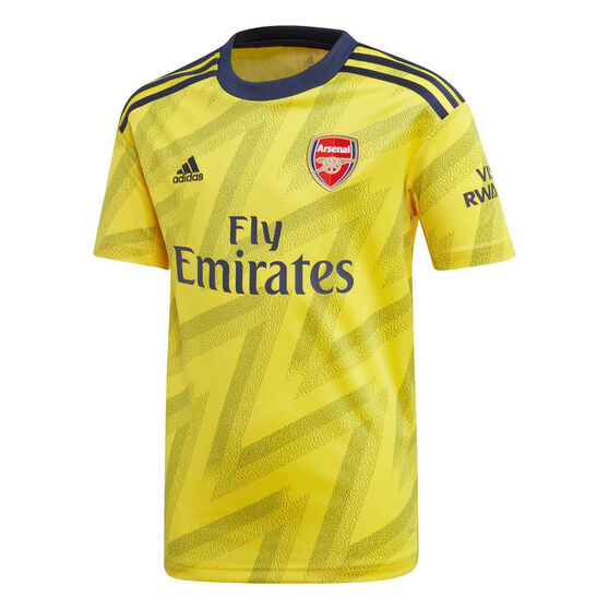 Arsenal FC 2019/20 Kids Away Jersey, Gold / Black, rebel_hi-res