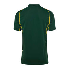 Kangaroos Pro VapoDri 2019 Mens Polo Green S, Green, rebel_hi-res