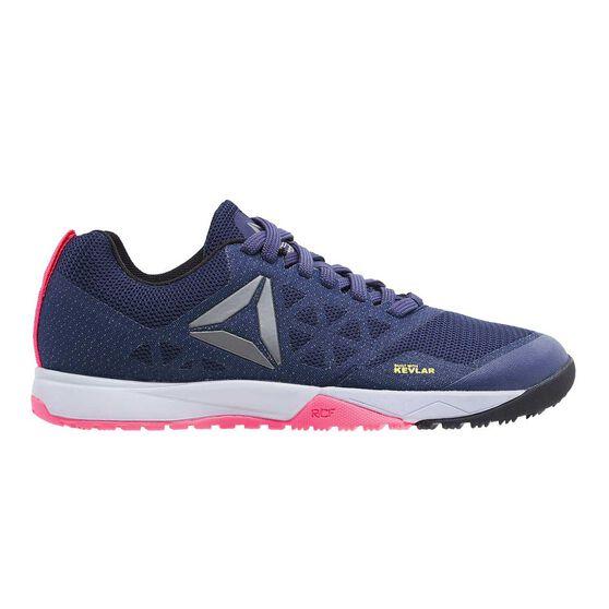 e853383b2c9 Reebok CrossFit Nano 6.0 Womens Training Shoes Navy   Pink US 7