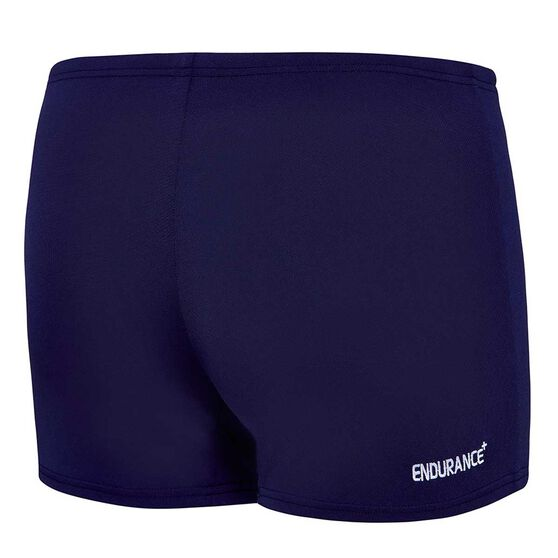 Speedo Mens Basic Aquashort Navy 18, Navy, rebel_hi-res