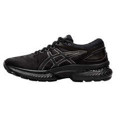 Asics GEL Nimbus 22 Womens Running Shoes Black US 6, Black, rebel_hi-res
