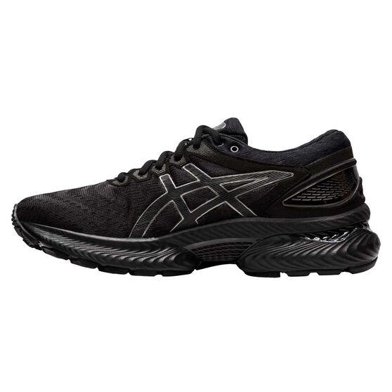 Asics GEL Nimbus 22 Womens Running Shoes, Black, rebel_hi-res