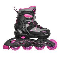 Goldcross 185 Inline Skates Pink US 12 - 2, Pink, rebel_hi-res