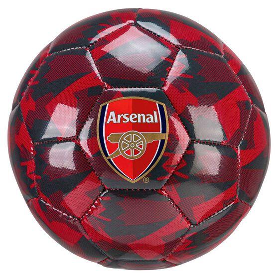 Puma Arsenal Camo Soccer Ball Red 1, , rebel_hi-res