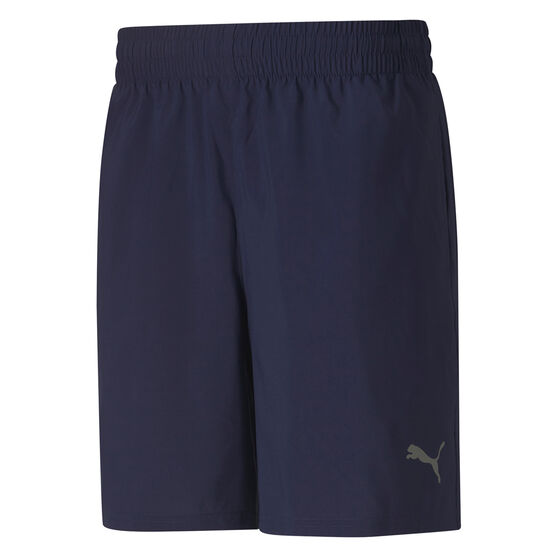PUMA Mens Blaster 7in Woven Training Shorts, Navy, rebel_hi-res
