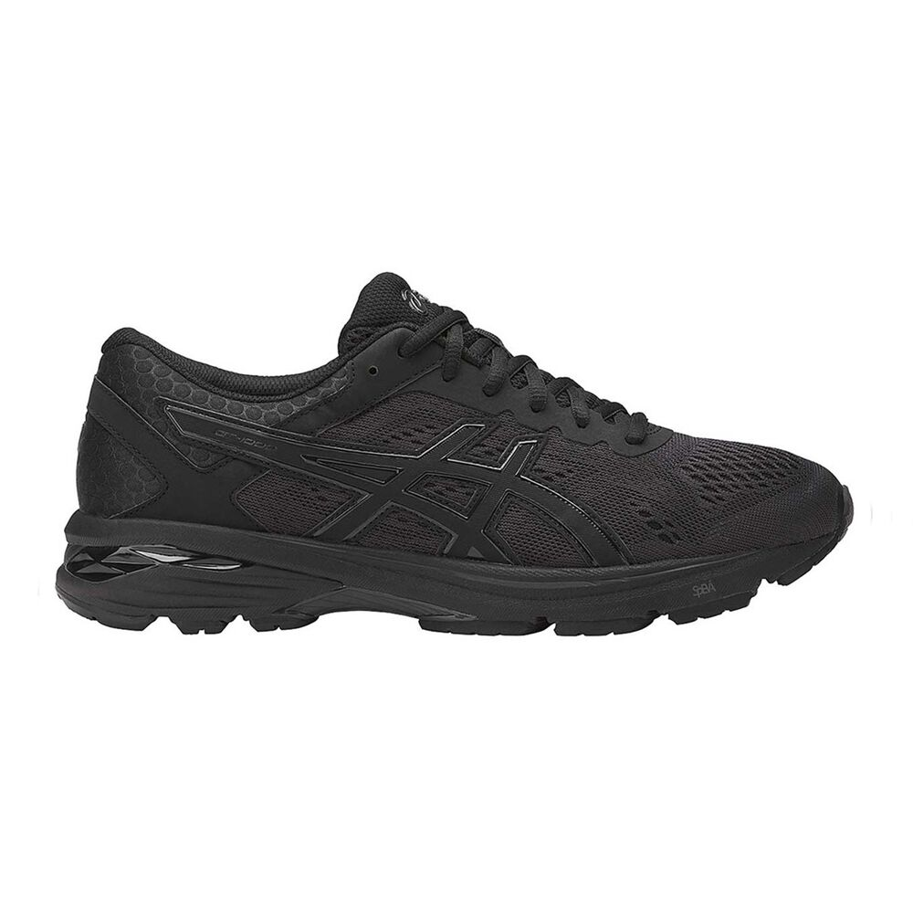 520a746b56ff Asics GT 1000 6 Mens Running Shoes Black   Black US 11