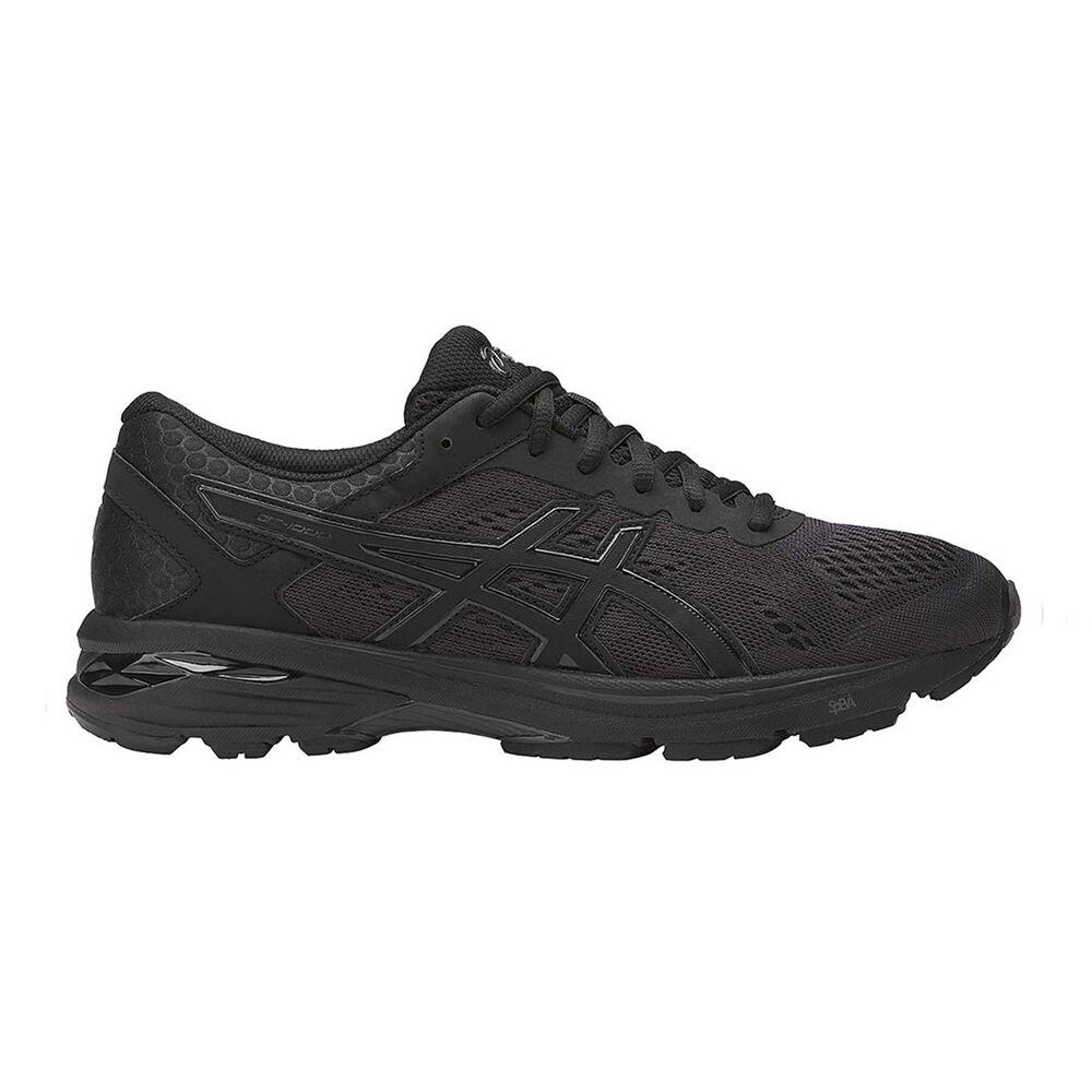 442a9edd3cc5 Asics GT 1000 6 Mens Running Shoes Black   Black US 11