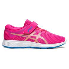 Asics Patriot 11 Kids Running Shoes Pink US 11, Pink, rebel_hi-res