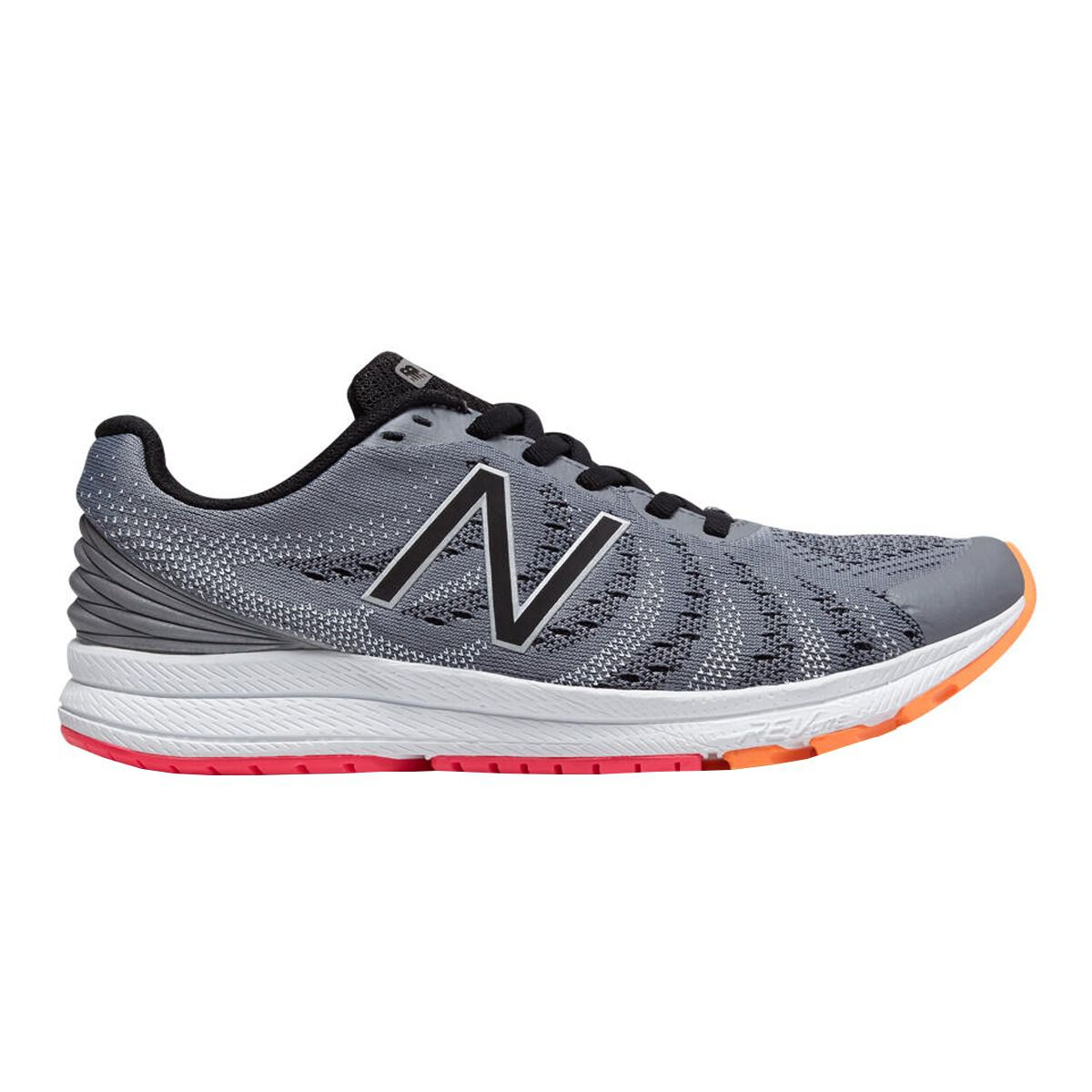 New Balance FuelCore Rush v3 Womens Running Shoes Grey Black US 7.5