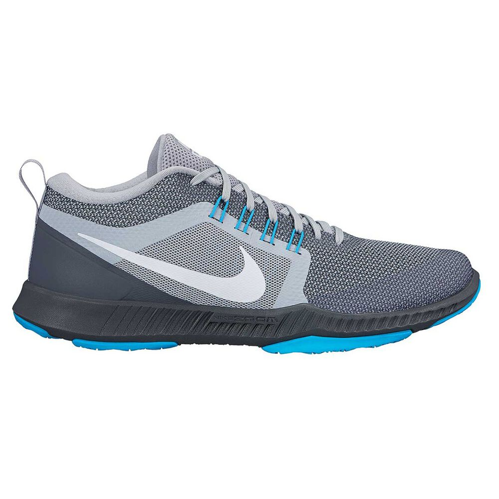 f1b62f1260f9 Nike Zoom Domination Mens Training Shoes Grey   Blue US 8.5