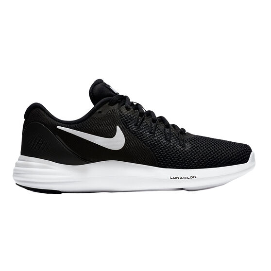 Nike Lunar Apparent Womens Running Shoes Black   White US 6.5 ... 8bc2a796b