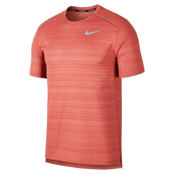 Nike Mens Dri-FIT Miler Running Tee, , rebel_hi-res
