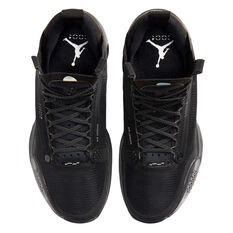 Nike Air Jordan XXXIV Mens Basketball Shoes, Black / Grey, rebel_hi-res