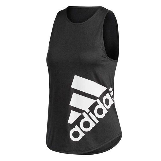 adidas Womens Key Item Graphic Training Tank, , rebel_hi-res